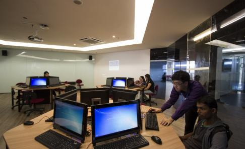 Computer Lab at KDU University College Utropolis Glenmarie