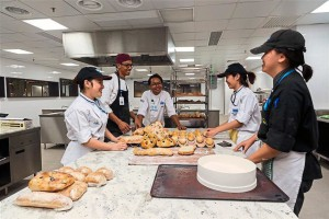 The new University of Wollongong Malaysia (UOWM) KDU campus boasts of specialised culinary facilities, such as this Pastry kitchen
