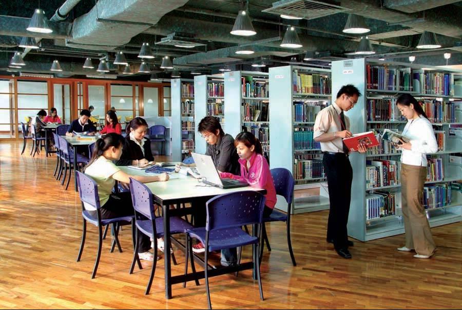 Library at Taylor's University