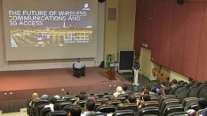 Lecture theatre at Multimedia University (MMU) Cyberjaya