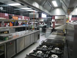Excellent kitchen facilities at KDU Penang University College