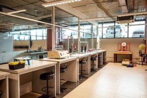 Engineering lab at Asia Pacific University (APU)