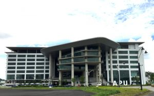 Asia Pacific University (APU) is a top ranked university in Malaysia with its new campus at Technology Park Malaysia. An impressive 95% of APU's graduates obtain jobs before graduation